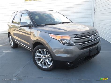 2013 sterling gray metallic ford explorer limited 74256324 gtcarlot car color galleries