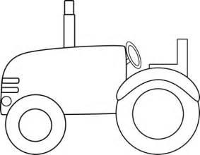 tractor template to print tractor border clip white tractor clip image black