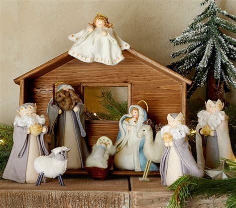 pottery barn nativity set nativity pottery barn