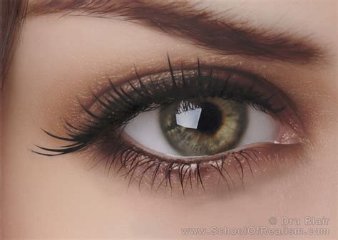 acrylic painting eye my photorealistic painting of an eye acrylic on