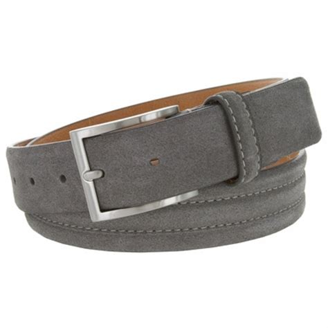 bs110 s genuine suede casual dress leather belt 1 3 8