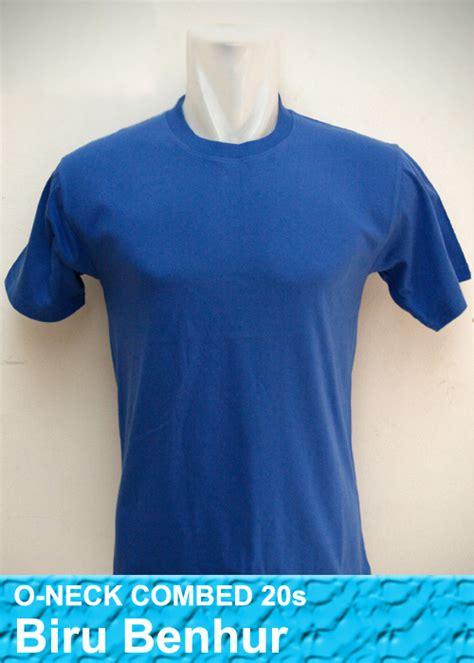 Kaos Persib Bandung Warna Biru kaos warna biru benhur cetakmugstore