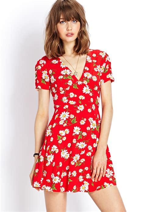 Dress Disy lyst forever 21 retro dress
