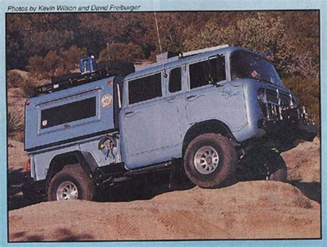 kaiser jeep m 677 crew cab page