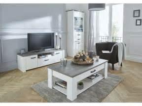banc tv duke coloris blanc vente de meuble tv conforama