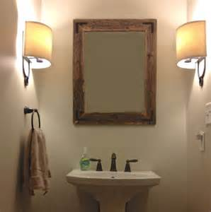 wood mirror bathroom unavailable listing on etsy