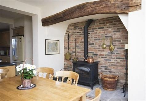 Small Inglenook Fireplace Designs by Farthing Kitchen With Inglenook Fireplace House