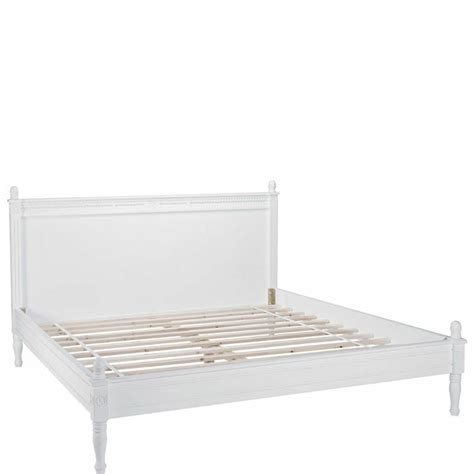 Dreamville Super King Bed Frame With Slats Shabby Chic Shabby Chic Bed Frame King
