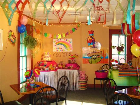mexican themed decoration ideas sweet 16 mexican themed birthday