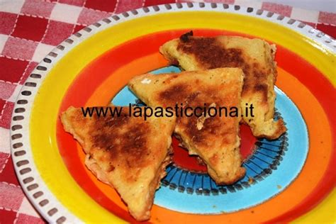 mozzarella in carrozza siciliana mozzarella in carrozza al forno la pasticciona