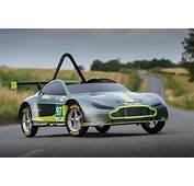 Aston Martin Go Kart For Red Bull Soapbox Race  Pictures