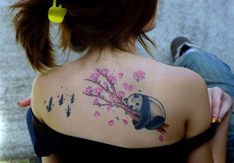 cute shoulder tattoo designs 51 panda shoulder tattoos design