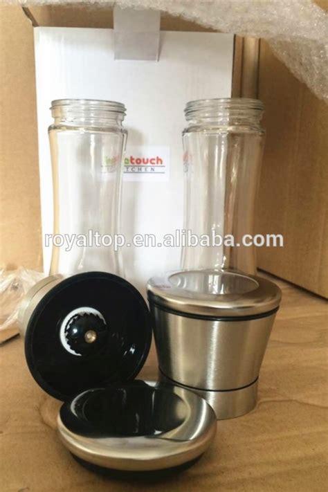 Manual Glass Pepper Grinder manual salt and pepper grinder buy black pepper grinder salt and pepper grinder glass salt