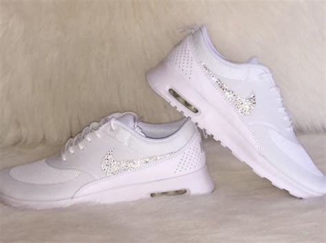 Womens White Wedding Shoes by White Nike Womens Bridal Sneakers Traffic School