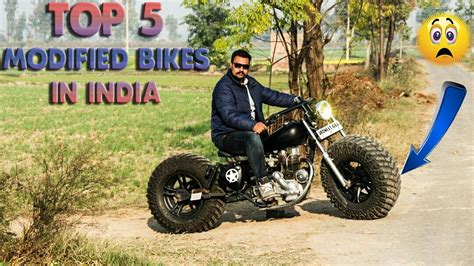 Modified Bikes In Hyderabad by Top 5 Best Modified Bikes In India Must