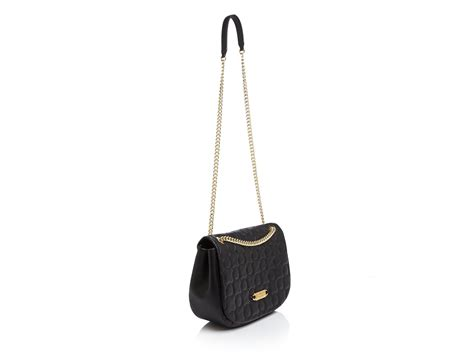 Black Shoulder Bag black shoulder bag with gold chain bags more