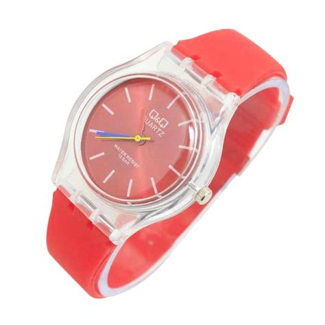 Jam Tangan Q Q Wanita Melly Mondroe Black Rubber jual q q vq50j0165g ad jam tangan wanita white harga kualitas terjamin blibli