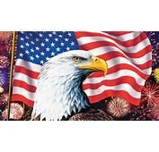 American Flag Bald Eagle Symbols Of America Hd Wallpaper