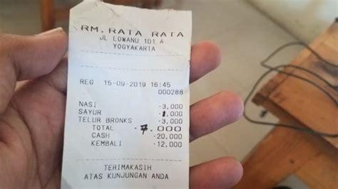 tempat makan  jogja  harga  ribu rupiah udah