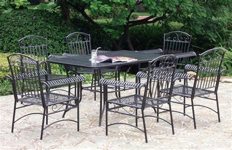 how to clean wrought iron patio furniture wrought iron patio dining sets inspiration and design ideas for house wrought iron