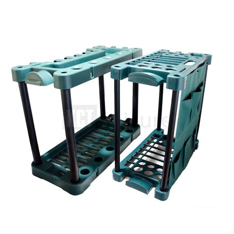 Tool Storage Rack by Garden Tool Trolley Rack Organiser Gardening Storage