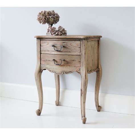 bed side table chateauneuf rustic bedside table bedside table