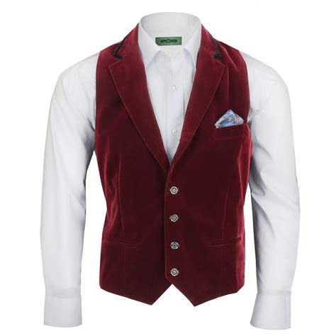 Vest Coat Maroon mens maroon velvet vintage 3 suit tuxedo blazer coat