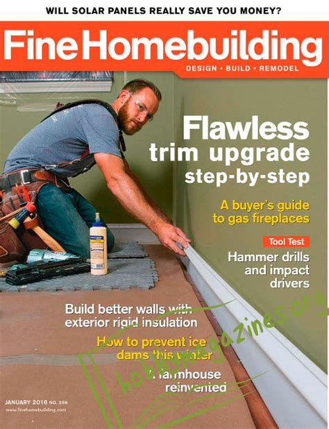 fine homebuilding login fine homebuilding january 2016 187 hobby magazines free