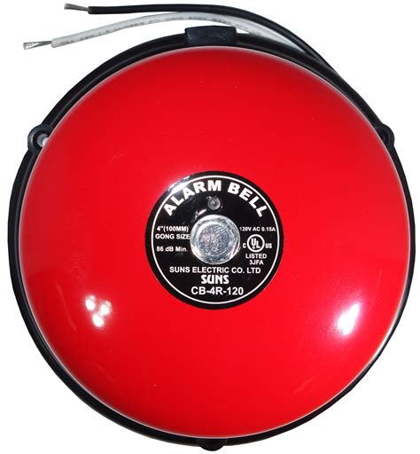 Alarm Gong suns cb 4r 24 24v alarm bell 4 inch 24 volt dc 4 quot in