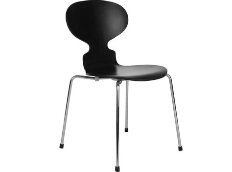 Mid Century Design by Ant Chair By Arne Jacobsen Platinum Replica