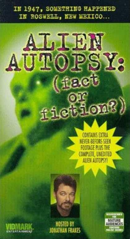 alien autopsy fact or fiction film tv 1995 premi vhs video covers 100 149