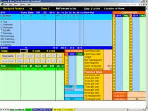 Home Decor Software Free Download cricket scorebook