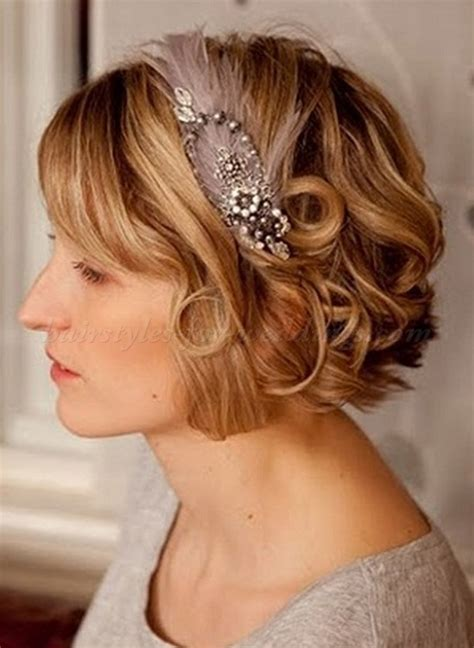 hairstyles for curly hair with headbands short wedding hairstyles for curly hair short wavy