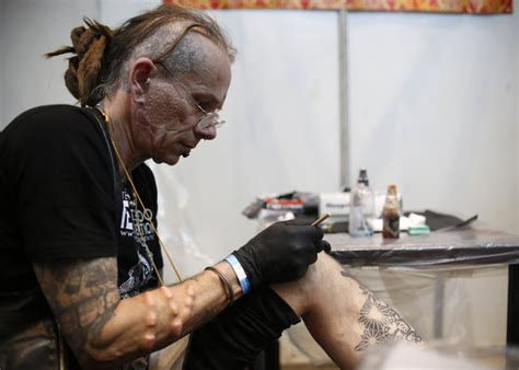 tattoo convention kathmandu the day in photos april 2 2016