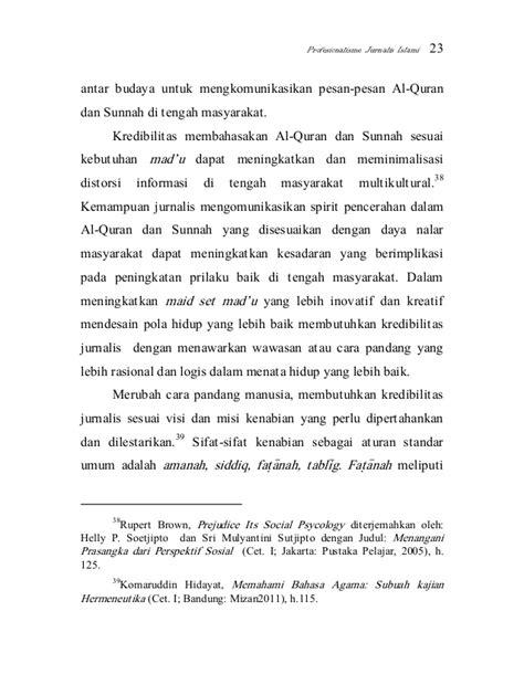 Komunikasi Multikultural Penulis Andrik Purwasito syarifudin profesionalisne jurnalis