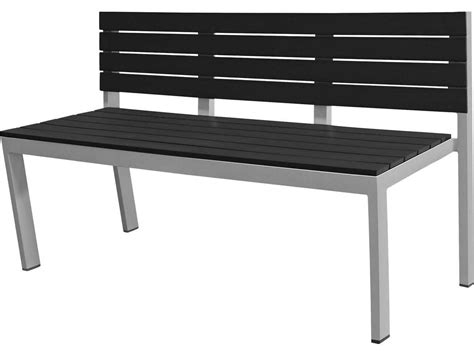 aluminum bench seating source outdoor furniture vienna aluminum bench highback