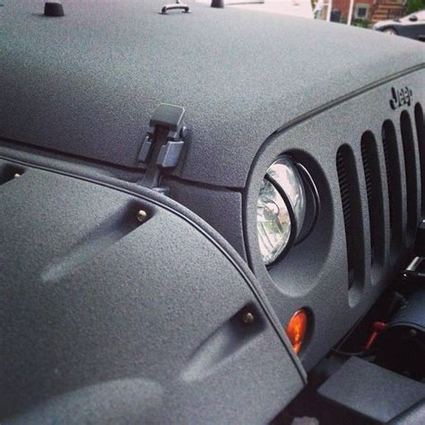 gray bed liner rhino all over jeep body too much rhino i don t think