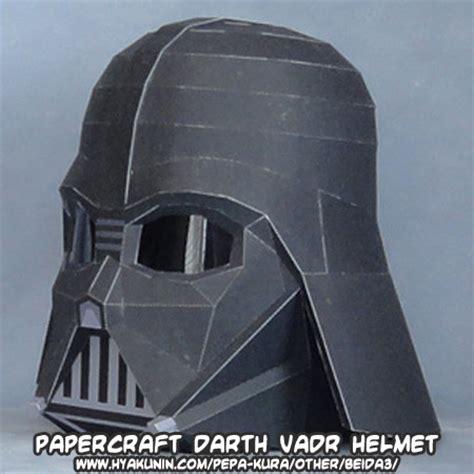 Papercraft Helmet Pdf - ninjatoes papercraft weblog papercraft wars darth