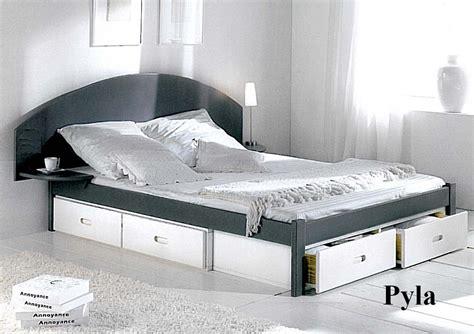 lit adulte avec tiroirs lit 140x190 avec tiroir