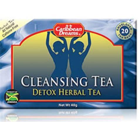 Caribbean Dreams Cleansing Tea Detox Herbal Tea Reviews by Caribbean Dreams Cleansing Tea