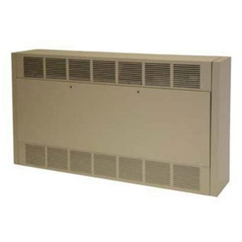 airtherm cabinet unit heater tpi fan forced cabinet unit heater 17065 btu electric from