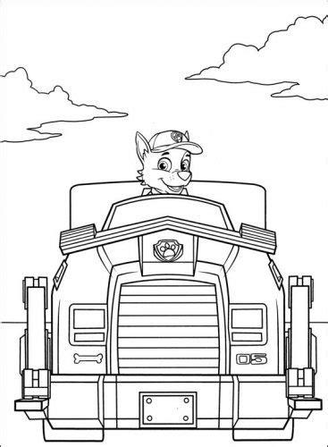 Desenhos para pintar patrulha canina - Fichas e Atividades