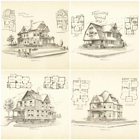 victorian house blueprints the gallery for gt vintage victorian house plans