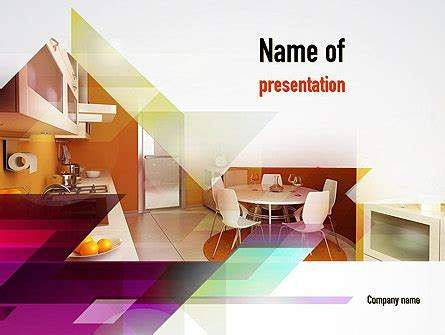 kitchen design and layout ppt kitchen design presentation template for powerpoint and