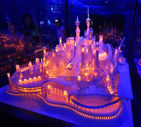 Canon Papercraft Castle Of Snow White Free Paper - a paper craft castle on the tokyobling s