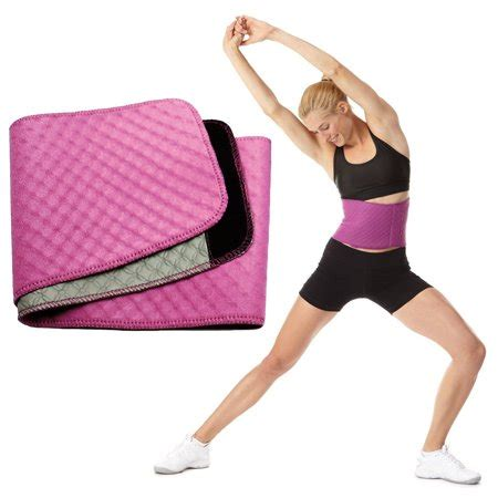 Sports Waist Trimmer Belt womens bodyfit quilted slimmer exercise belt by sports