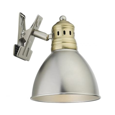 nag4175 nagoya 1 light clip light antique chrome antique brass