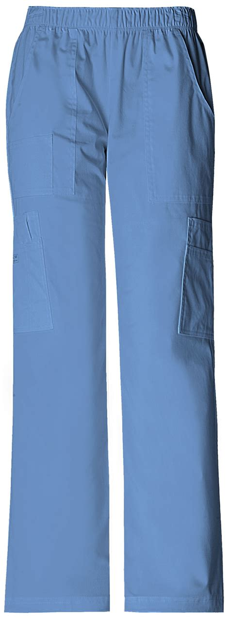 Hq 10445 Set Toppants Pink Blue mid rise pull on pant cargo pant in ciel from chillybears