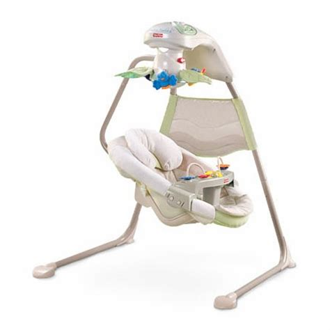 fisher price swing tray fisher price nature s touch swing fisher price natures