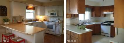 small kitchens before and after www imgkid the